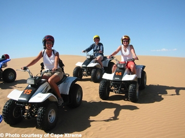 Sand Boarding And Quad Bike Experience