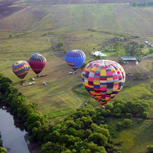 Hot Air Balloon Safari Tour
